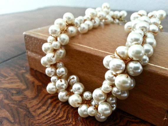 Bridesmaids Pearl Necklace