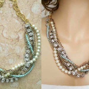 bridesmaids necklace